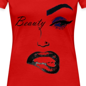 beauty (2) copy.png T-Shirts - Women's Premium T-Shirt