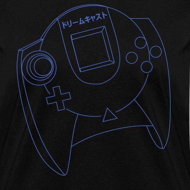 Dreamcast Controller Blueprints T-Shirt (Women's)