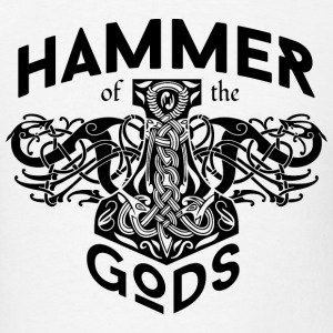 Hammer Gods Vikings Black T-Shirts - Men's T-Shirt