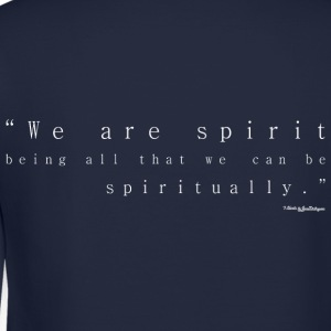 We Are Spirit - White Long Sleeve Shirts - Crewneck Sweatshirt