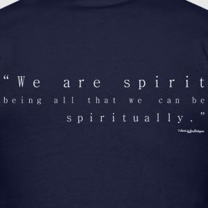 We Are Spirit - White T-Shirts - Men's T-Shirt