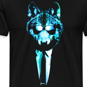 Super Chill Ice Wolf - Men's Premium T-Shirt