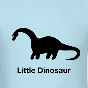 Little Dinosaur (Design by Sarim) Black - Men's T-Shirt