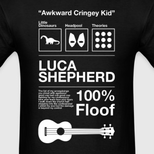 All Sorts Luca Shepherd (Design by Sarim) Black - Men's T-Shirt