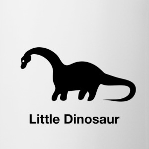 Little Dinosaur (Design by Sarim) White - Coffee/Tea Mug