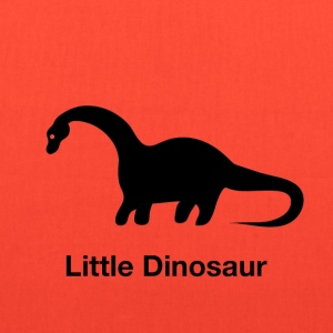Little Dinosaur (Design by Sarim) Black - Tote Bag