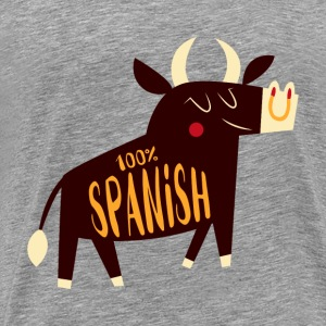 100% Spanish - Men's Premium T-Shirt