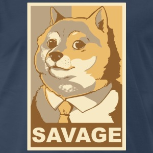 Doge Savage - Men's Premium T-Shirt