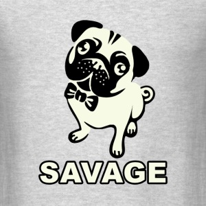 Pug Savage - Men's T-Shirt