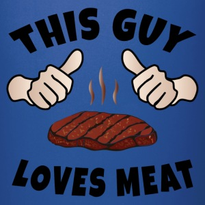 This Guy Loves Meat Mugs & Drinkware - Full Color Mug