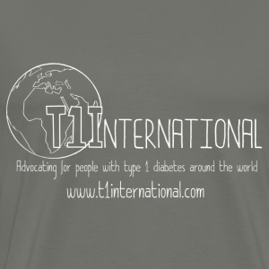 Men's Grey T1International Tshirt - Men's Premium T-Shirt