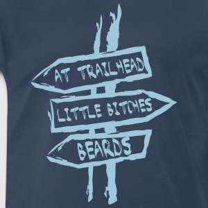 Beard Trailhead - Men's Premium T-Shirt
