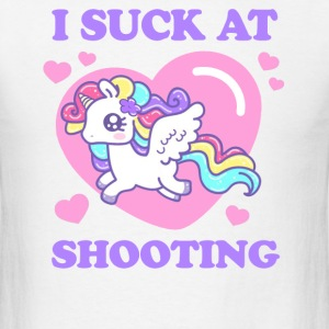 I SUCK AT SHOOTING! T-Shirts - Men's T-Shirt