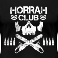 Design ~ Woman's Black Horrah Club T-Shirt