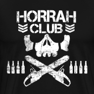 Design ~ Men's Black Horrah Club T-Shirt