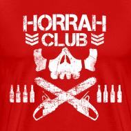 Design ~ Men's Red Horrah Club T-Shirt
