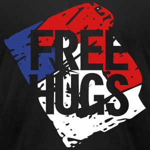 free hugs - Men's T-Shirt by American Apparel