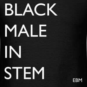 Black Males in STEM Tee T-Shirts - Men's T-Shirt