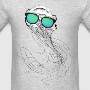 Cool Glasses jelly fish - Men's T-Shirt