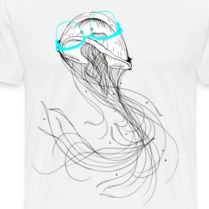 Fun Jelly Fish - Men's Premium T-Shirt