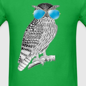 Cool Owl - Men's T-Shirt