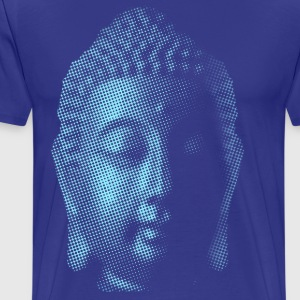 Big Blue Buddha - Men's Premium T-Shirt