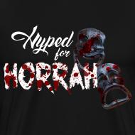 Design ~ Men's Black Horror Hype T-Shirt
