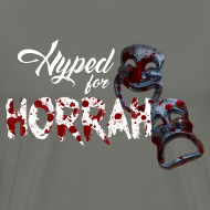 Design ~ Men's Gray Horror Hype T-Shirt