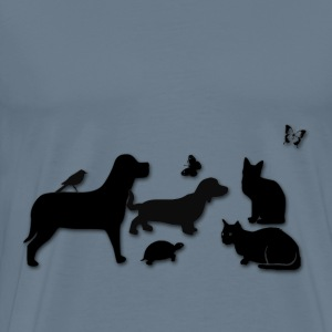 Critter Friends - Men's Premium T-Shirt