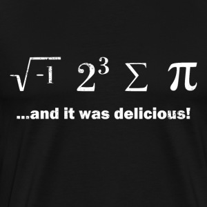 I ate some pi - Men's Premium T-Shirt