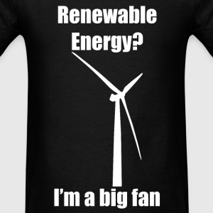 Renewable Energy T-Shirt (White) - Men's T-Shirt