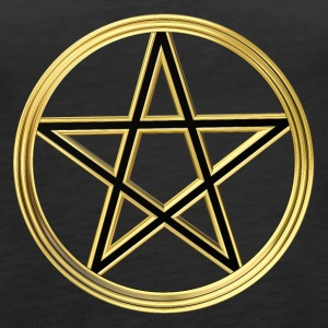 Golden pentagram Tanks - Women's Premium Tank Top