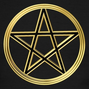 Golden pentagram T-Shirts - Men's Ringer T-Shirt