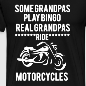 Grandpas Ride Motorcycles - Men's Premium T-Shirt