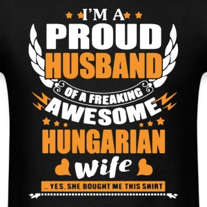 Hungarian Wife Awesome - Men's T-Shirt