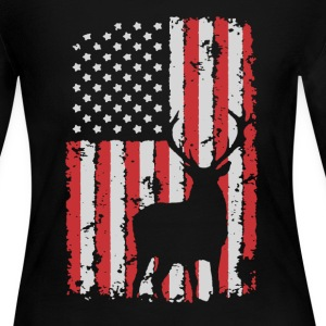 Hunting Flag Shirt - Women's Long Sleeve Jersey T-Shirt