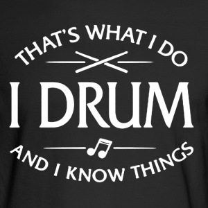 Drum Shirt - Men's Long Sleeve T-Shirt