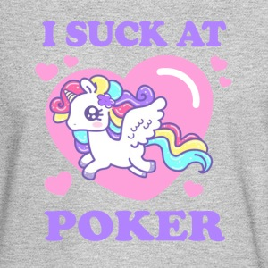 I SUCK AT POKER! Long Sleeve Shirts - Men's Long Sleeve T-Shirt
