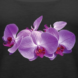 Purple Orchid Trio Tanks - Women's Premium Tank Top