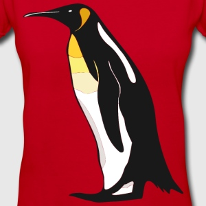 Emperor penguin from antarctic T-Shirts - Women's V-Neck T-Shirt