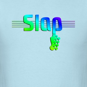 Slap Bass Colorful - Men's T-Shirt