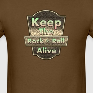 Keep The Rock&roll - Men's T-Shirt