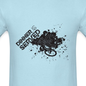 Dinner is served dark graphic T-Shirt - Men's T-Shirt