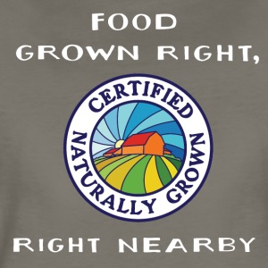 301487593_1008510954_Food_Grown_Right_Right_Nearby T-Shirts - Women's Premium T-Shirt