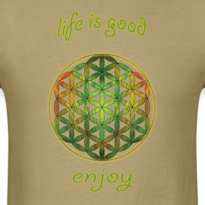 flower-of-life22 - Men's T-Shirt