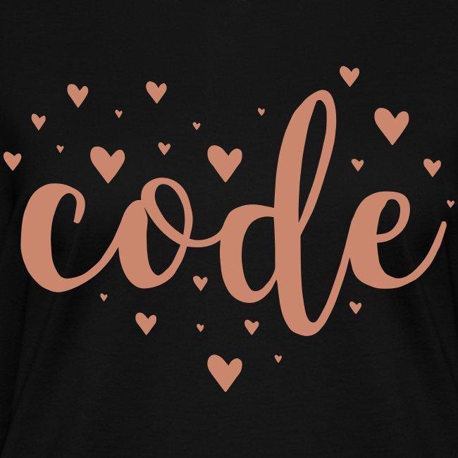 pink glitz - code heart