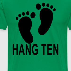 hang_ten - Men's Premium T-Shirt