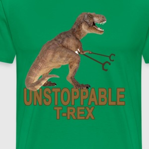 unstoppable_trex_ - Men's Premium T-Shirt