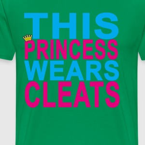 this_princess_wears_cleats_soccer_softba - Men's Premium T-Shirt
