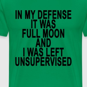 it_was_full_moon - Men's Premium T-Shirt